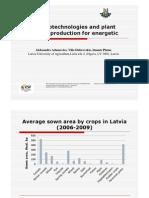 05 Agrobiotechnologies in Latvia
