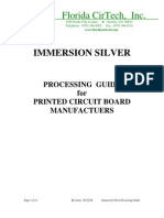 Immersion Silver Processing Guide