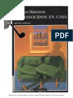 FIC- Simenon, Georges - Desconocidos en Casa