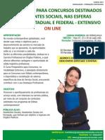 PREPARATÓRIO EXTENSIVO- ON LINE