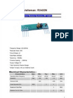 Rx433 Datasheet