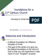 Biblical Foundations Intro Prayer