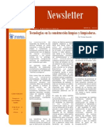 Newsletter Abril IMEF ITESM