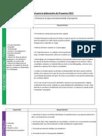 Manual Para La Elaboracion de Proyectos 2012