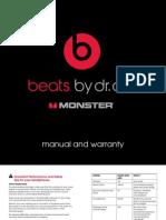 Beats Pro Manual Warranty US v1