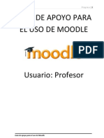 Uso de Moodle