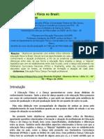 Dança e Educação Física no Brasil- questões polêmicas