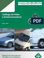 INA CATÁLOGO POLIAS E TENSORES 2010/2011