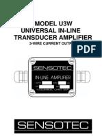 008-0297-00 U3W Amplifier