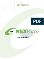 nexphase user guide medical prescription icon computing rh scribd com