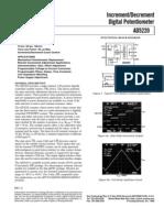 Datasheet Potenciometro Digital