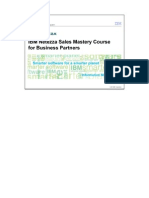 Ibm Netezza Sales Mastery Course