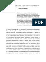 DE LA BRECHA DIGITAL Y DE LA FORMACIÓN DE DOCENTES EN TIC