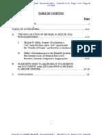 Liberi v Taitz - Plaintiffs Objections to the Declaratino of Michael B Miller Esq Dkt No 519 520 521 522 Doc 524