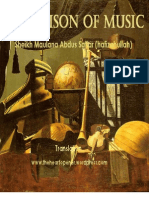 The Poison of Music by Sheikh Maulana Abdus Sattar (hafizahullah)