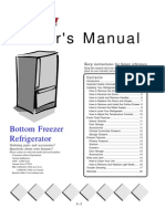 Amana Model 20 Refrigerator