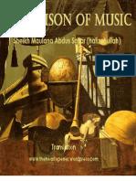 The Poison of Music by Sheikh Maulana Abdus Sattar (hafizahullah)