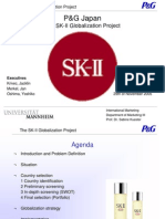 p&g japan the sk-ii globalization project case study analysis