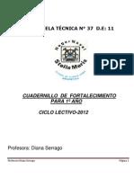 CUADERNILLO FORTALECIMIENTO 2012 - copia