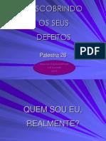 026 DESCOBRINDO OS DEFEITOS