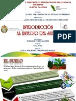 Diapositivas introducción al estudio del suelo