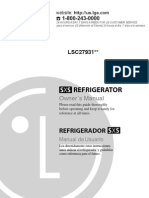 LG Refrig Manual