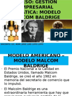 3ra Semana Modelo Malcom Baldrige