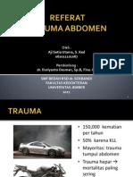 Referat Trauma Abdoman Aji