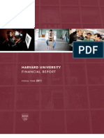Harvard Financial Report 2011