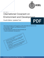 Draft International Covenant on Environment and Development