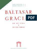 Biografía de Baltasar Gracián