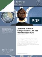 Avaya vs Cisco TCO Report