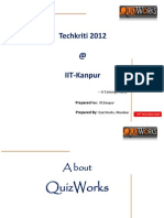 QuizWorks IIT Kanpur