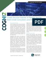Credit Decision Indices
