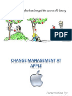 Change Management at Apple