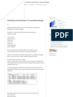 Cognos Blogger_ Granularity & Determinants in Framework Manager