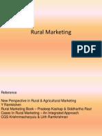 Rural Mkting