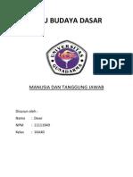 IBD Bab 9 (Manusia Dan Tanggung Jawab)