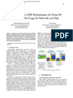 TCP Versus UDP Performance In Term Of Bandwidth Usage In Network on Chip