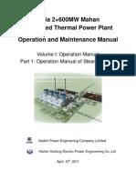 Part 1 Operation Manual of Steam Turbine