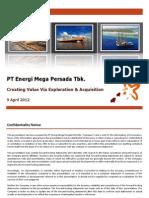 ENRG 2011 Results