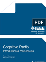 Cognitive Radio Introduction and Main Issues