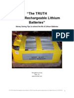 Lithium Battery Secrets
