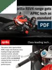 01032011 - Aprilia RSV4 Gets APRC