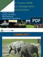 Conflict Management - Introduction Final MSP 2008