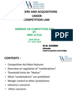 Seminar on Competition Act