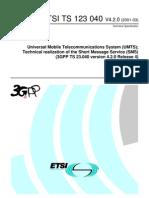ETSI - SMS