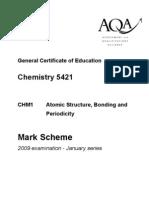 Jan 09 Paper 1 M-Scheme