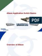 Alteon L4 Switch Basic Training
