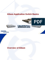 Alteon L4 Switch Basic Training